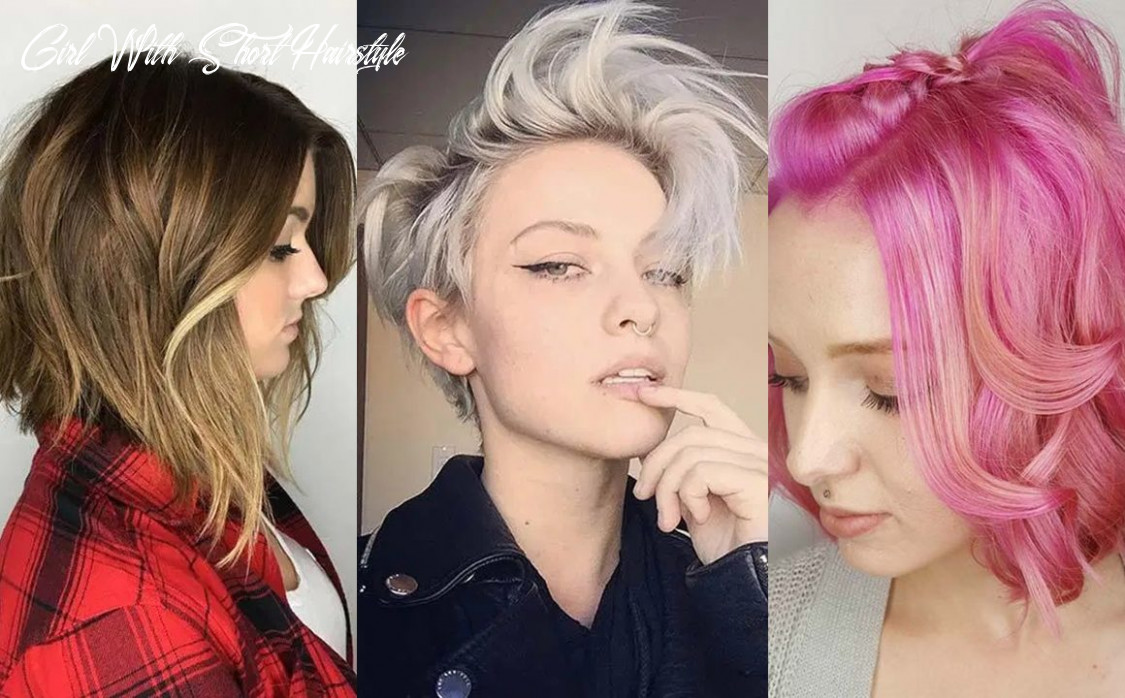 12 short hairstyles for women with thin hair | fashionisers© girl with short hairstyle