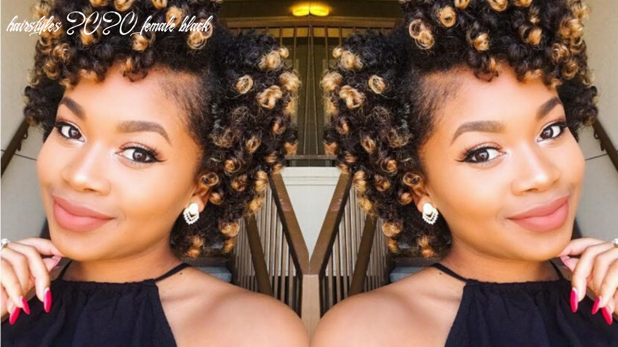 12 short natural hairstyles for black women hairstyles 2020 female black
