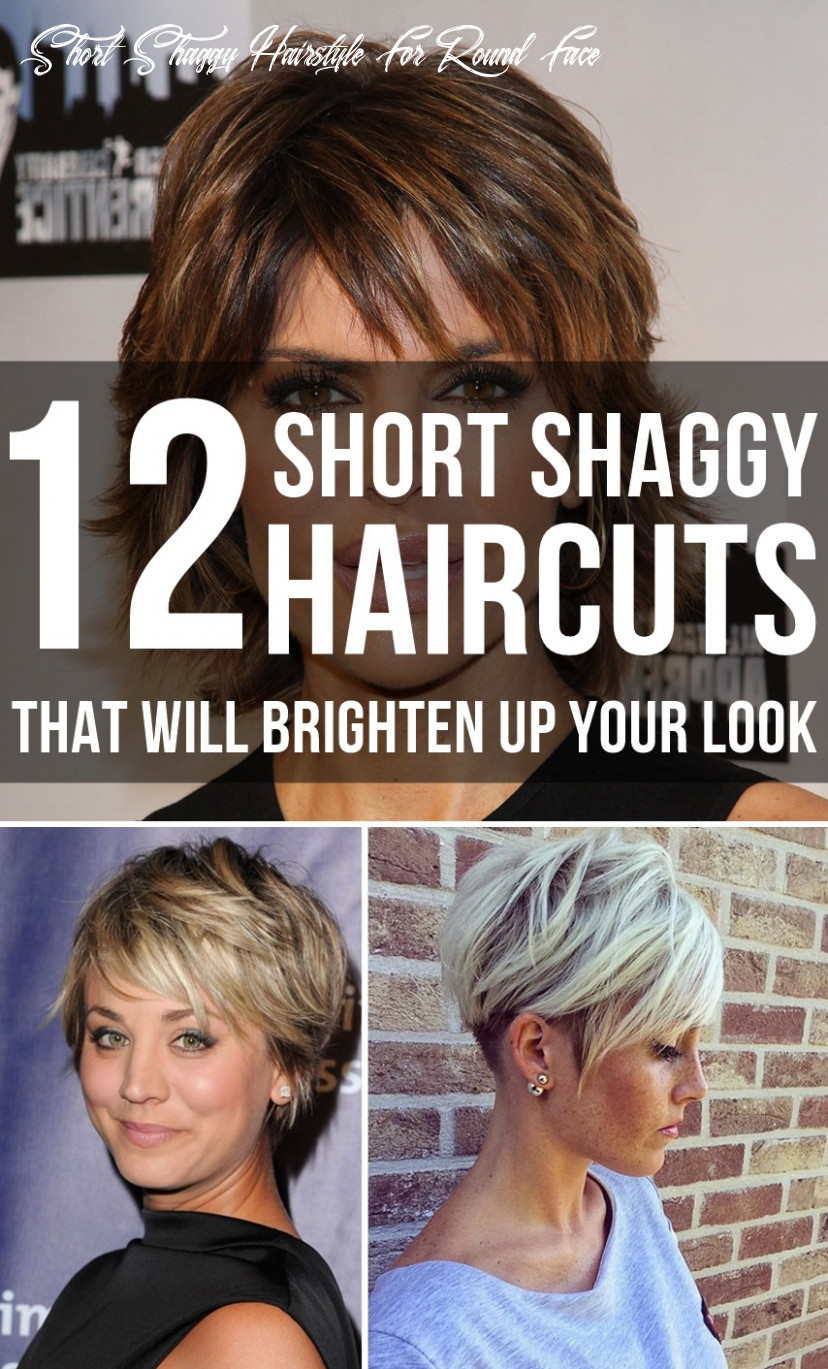 12 short shaggy haircuts that will brighten up your look short shaggy hairstyle for round face