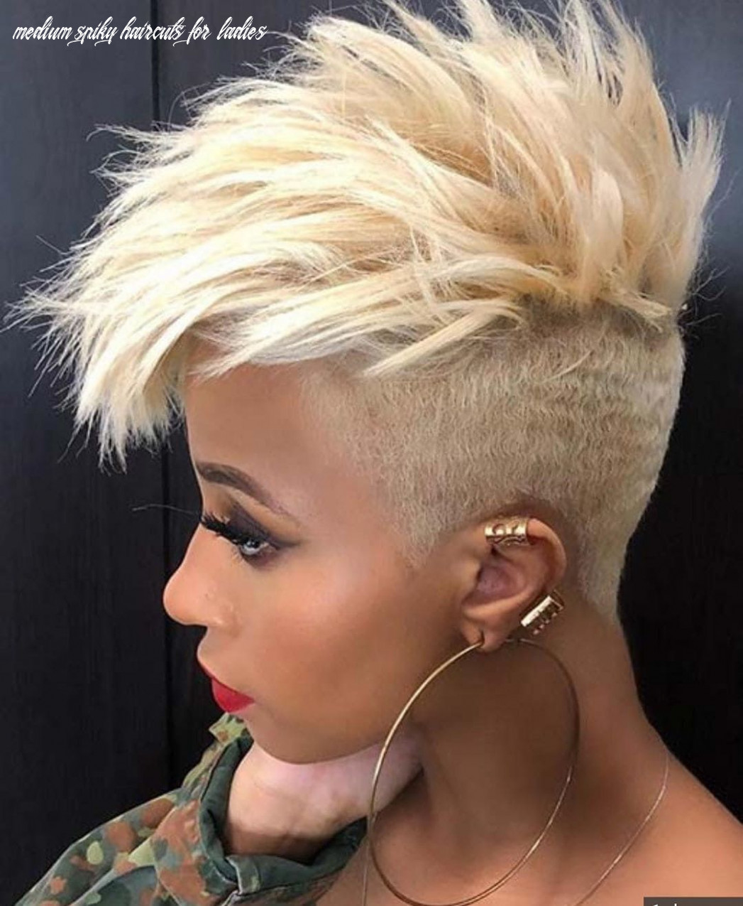 12 short spiky haircuts for women (with images) | thick hair