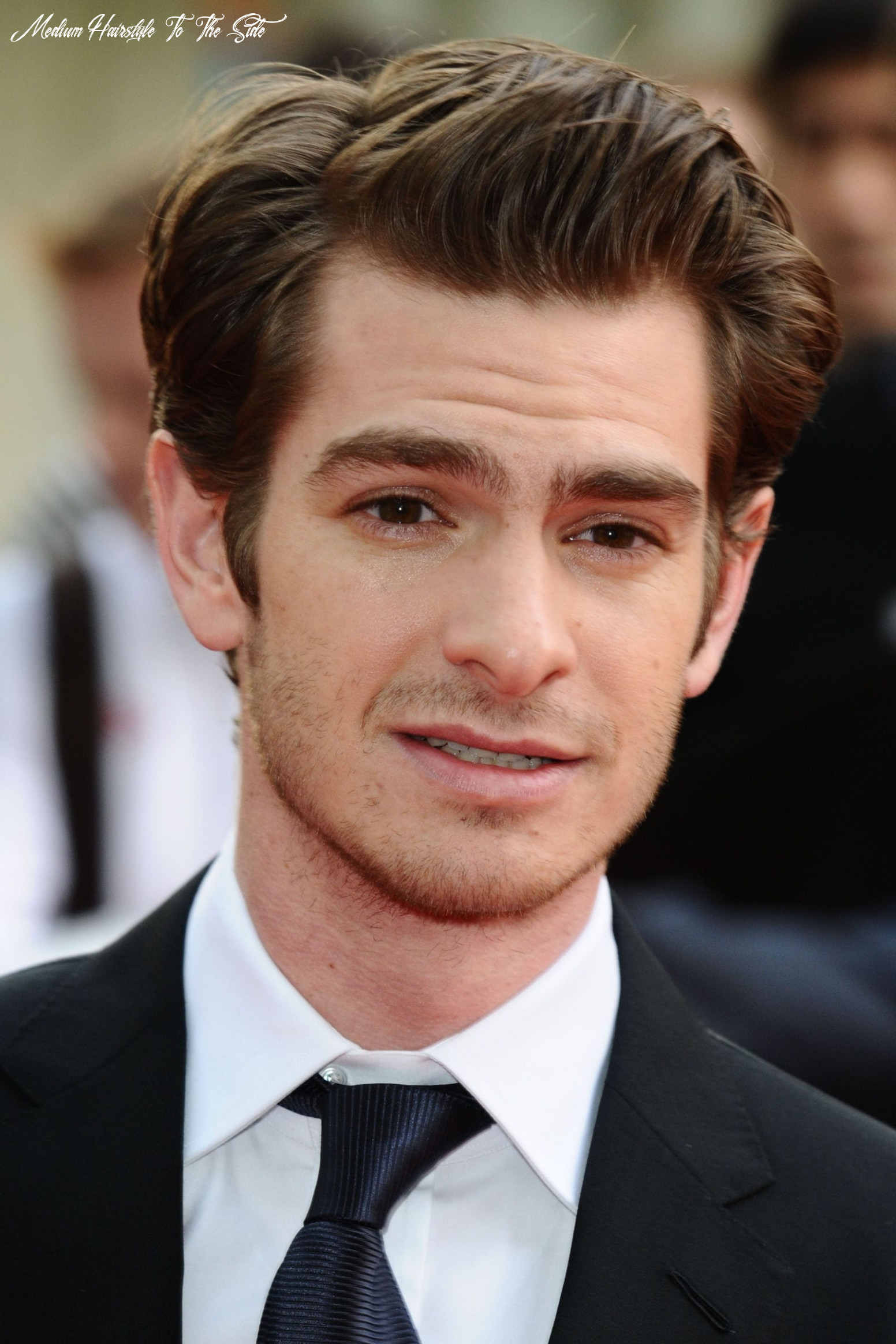 12 side part haircuts: a classic style for gentlemen medium hairstyle to the side