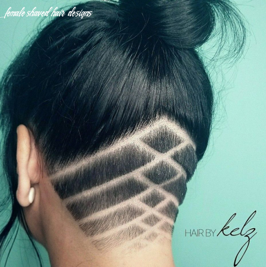 12 simple hair tattoo | shaved hair designs, undercut long hair