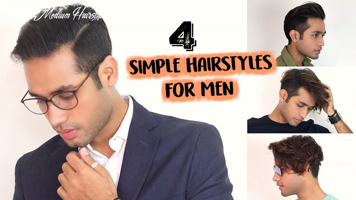 12 simple hairstyles for indian men with medium hair 12 simple medium hairstyle male