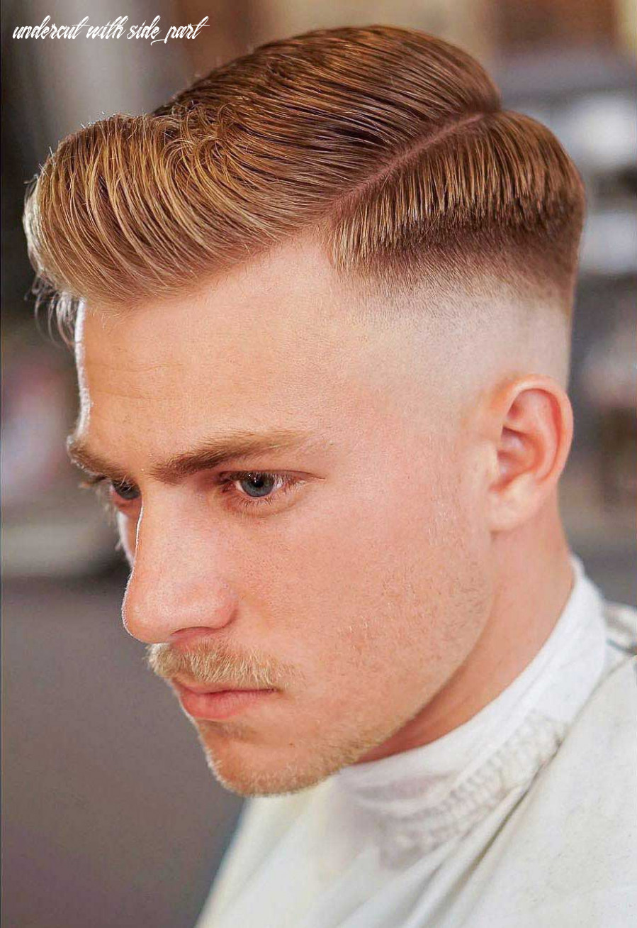 12 skin fade haircut ideas (trendsetter for 12) undercut with side part