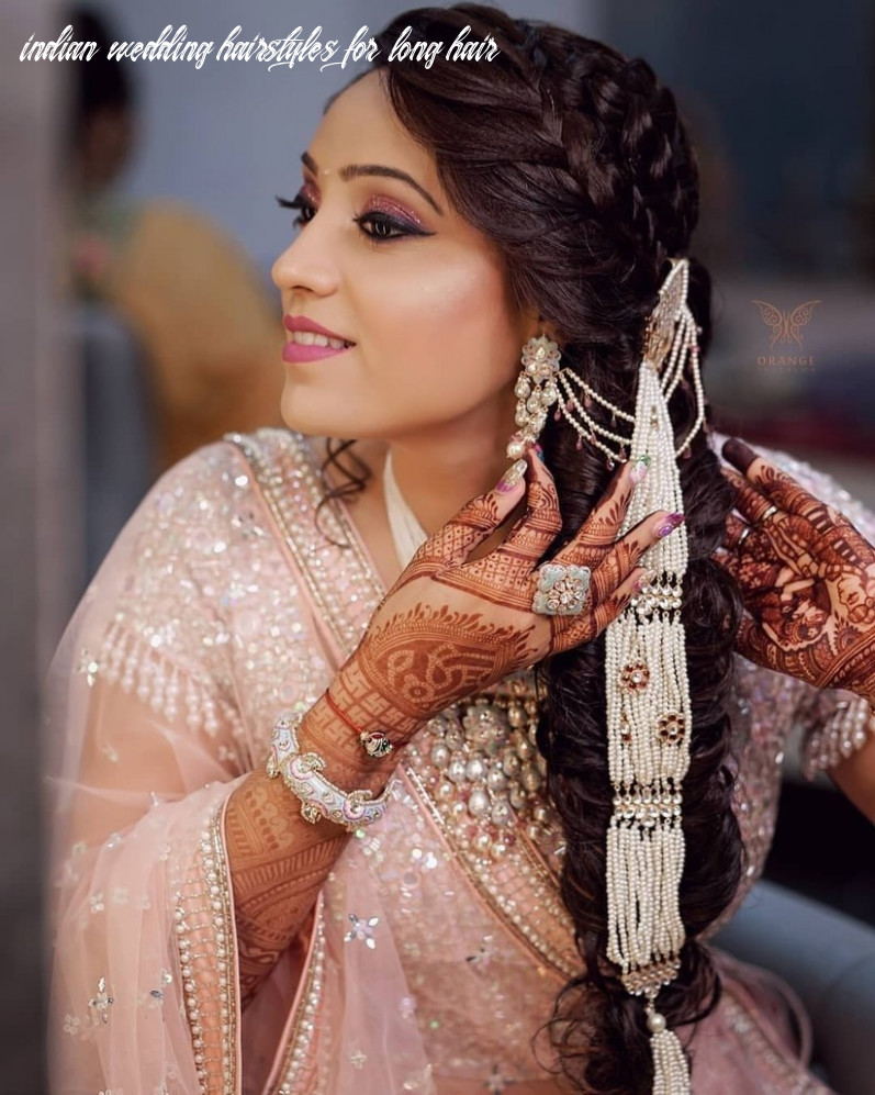 12 South Indian Wedding Hairstyles For Long Hair Which Highlight ...