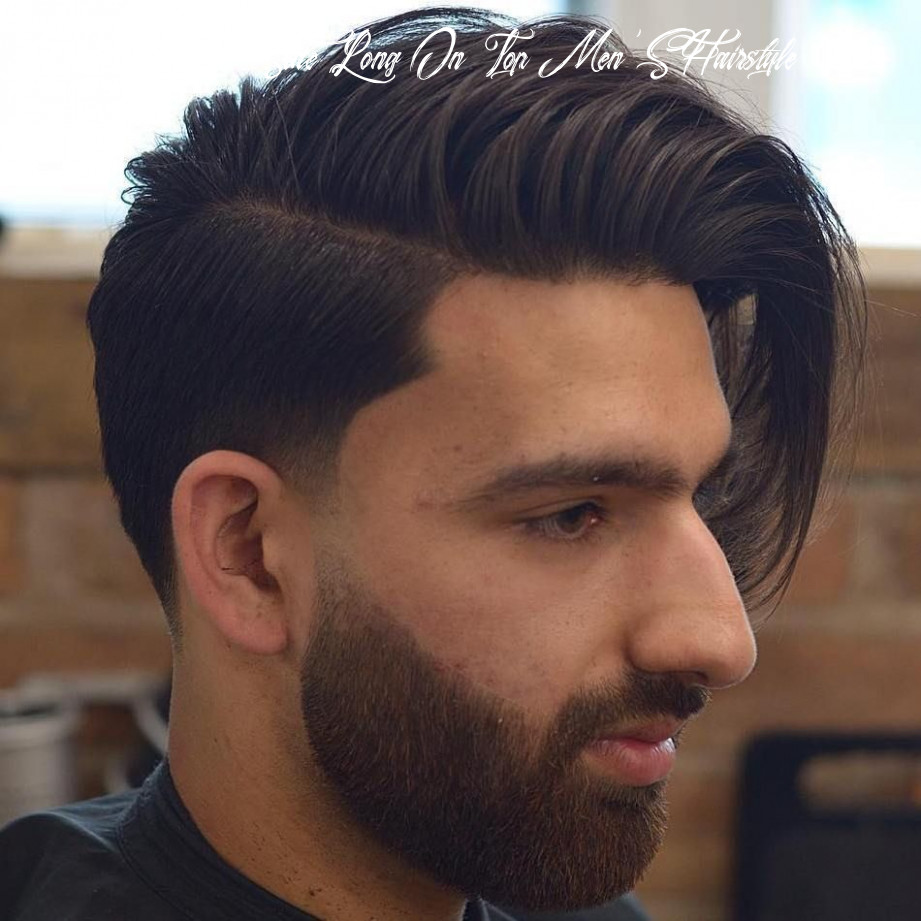 12 Statement Hairstyles for Men with Thick Hair in 12   Side ...