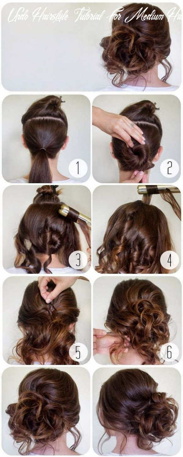 12 step by step tutorial for beautiful hair updos ❤ trend to