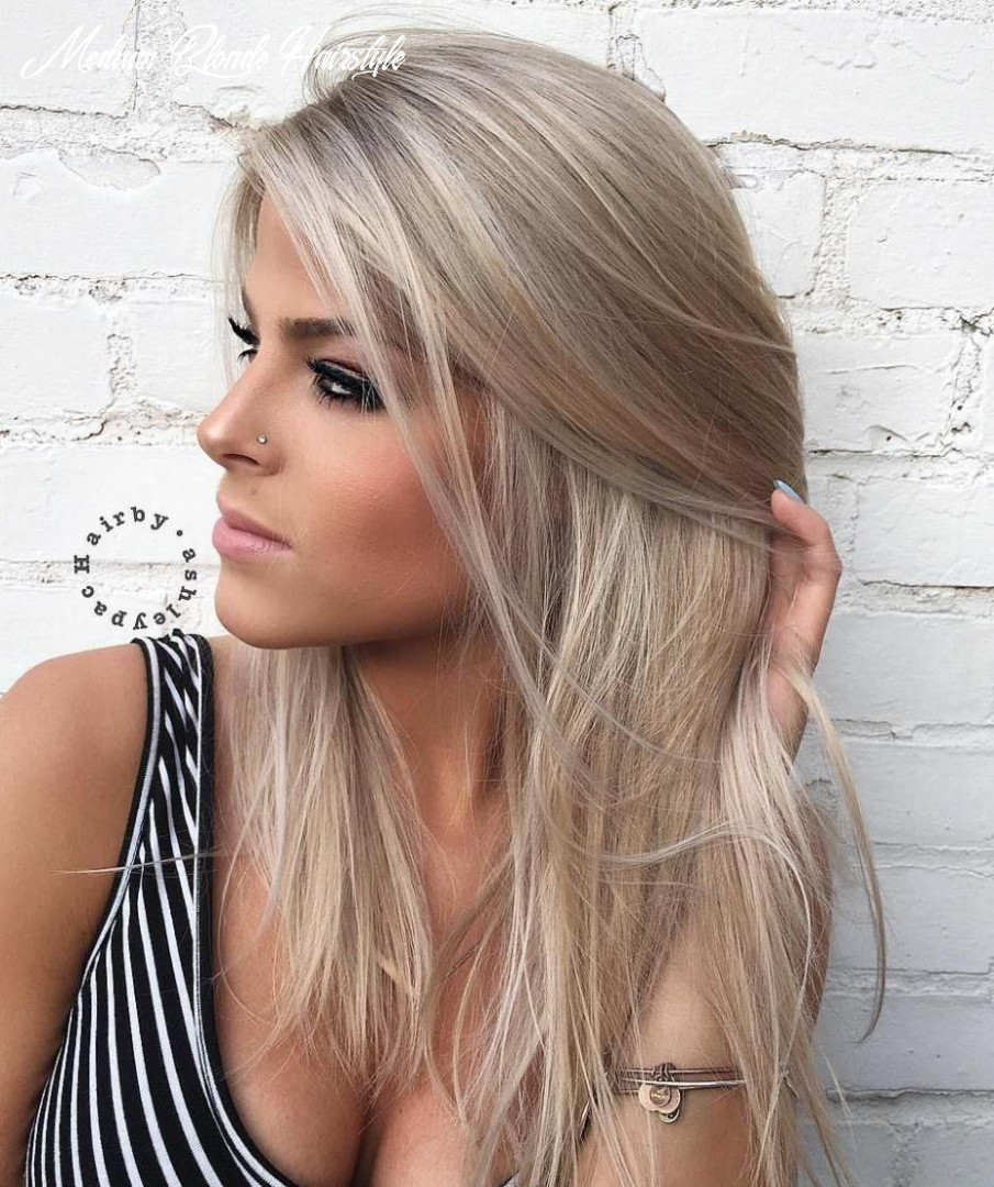 12 styles with medium blonde hair for major inspiration | cores de