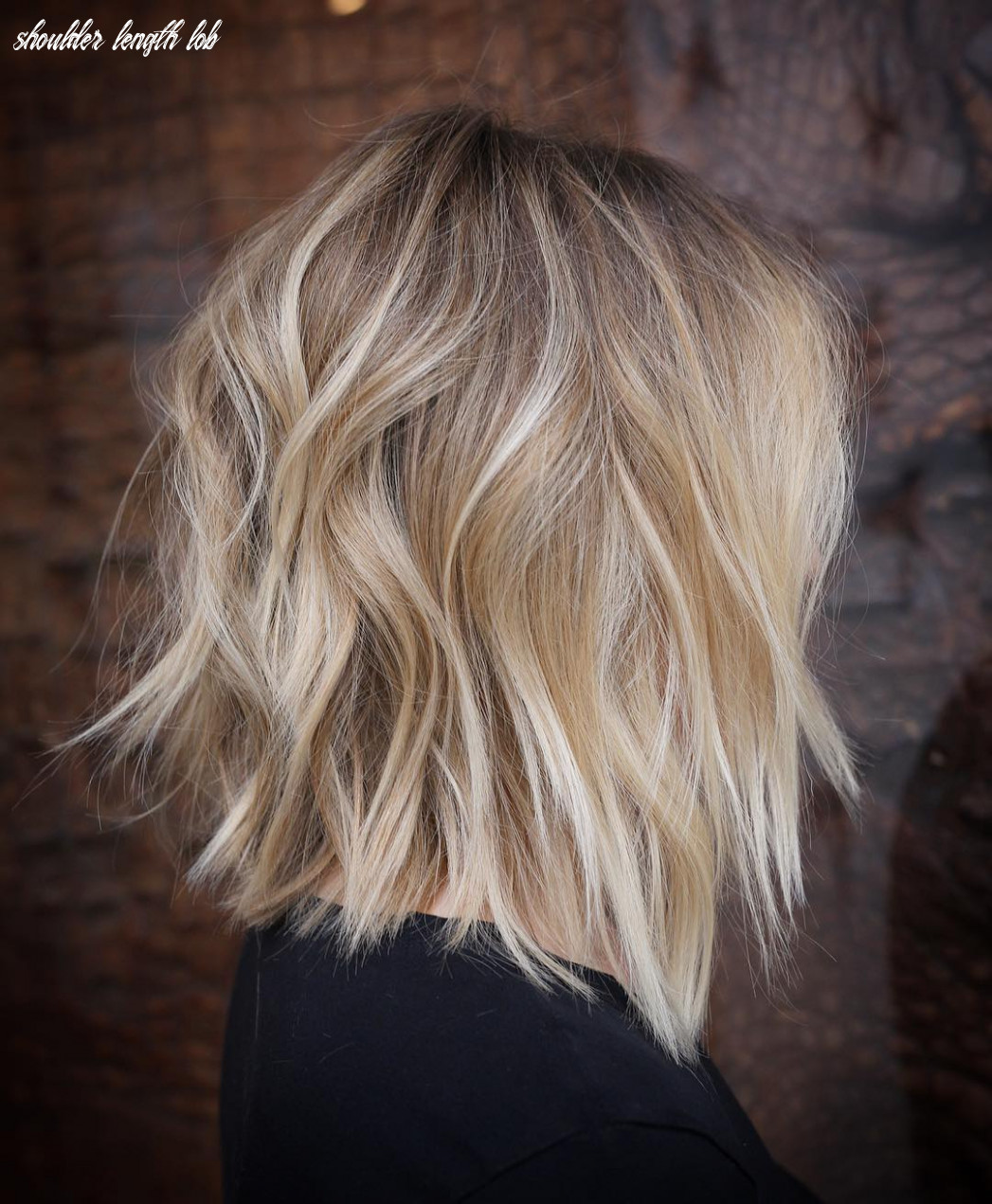 12 stylish lob hairstyle ideas, best shoulder length hair for