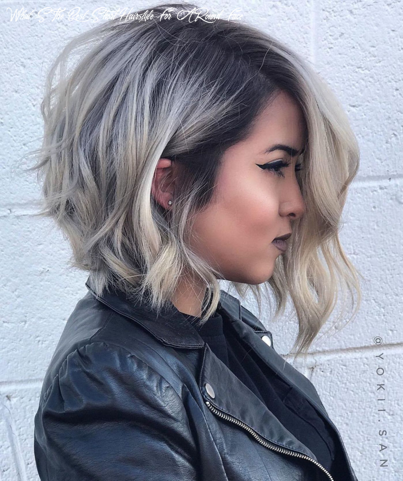 12 super cute looks with short hairstyles for round faces | short