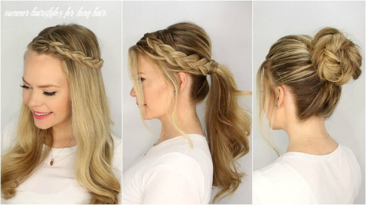 12 super easy beautiful long hairstyles step by step | summer