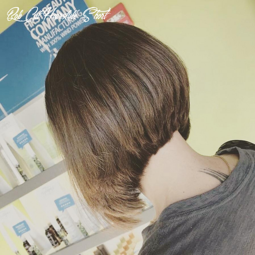 12 super hot stacked bob haircuts: short hairstyles for women 12