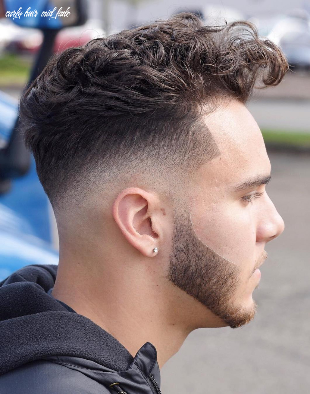 12 the most fashionable mid fade haircuts for men curly hair mid fade