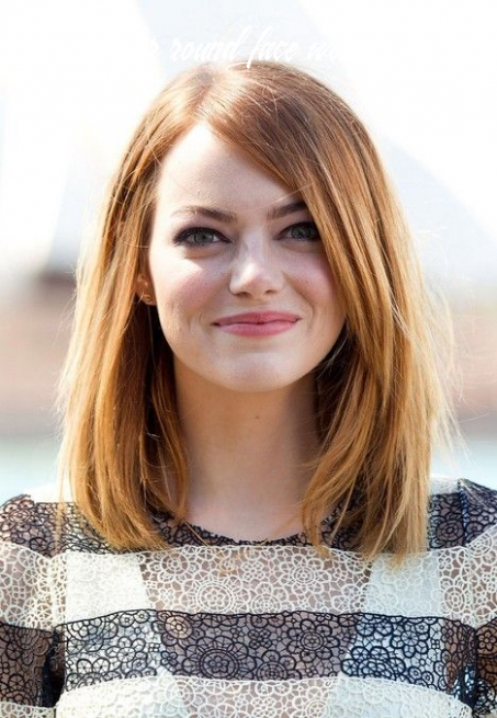 12 Trendy Hairstyles to Slim Your Round Face - PoPular Haircuts