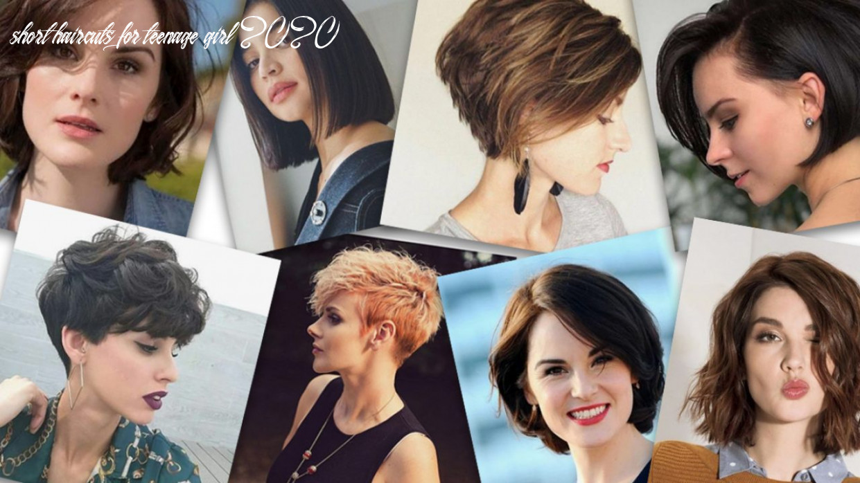 12 trendy short haircuts for teenage girls in 12   talkcharge blog short haircuts for teenage girl 2020