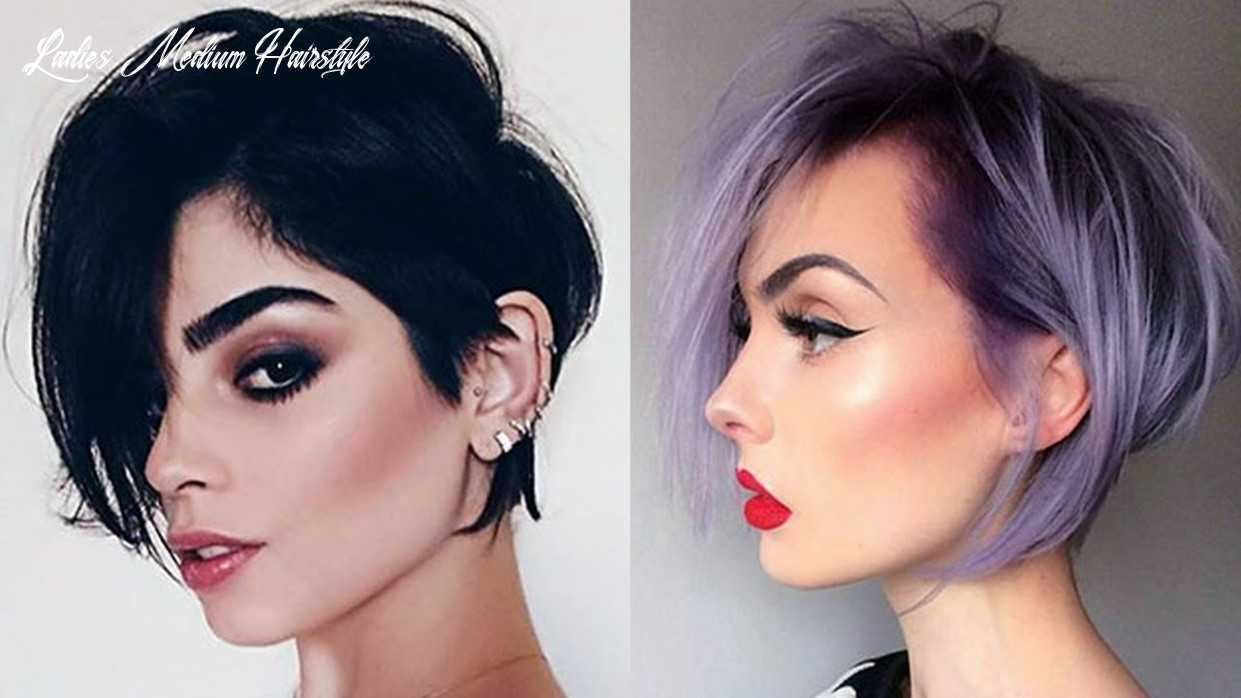 12 trendy short/medium hairstyles for women | hair styles for women with medium/short hair ladies medium hairstyle