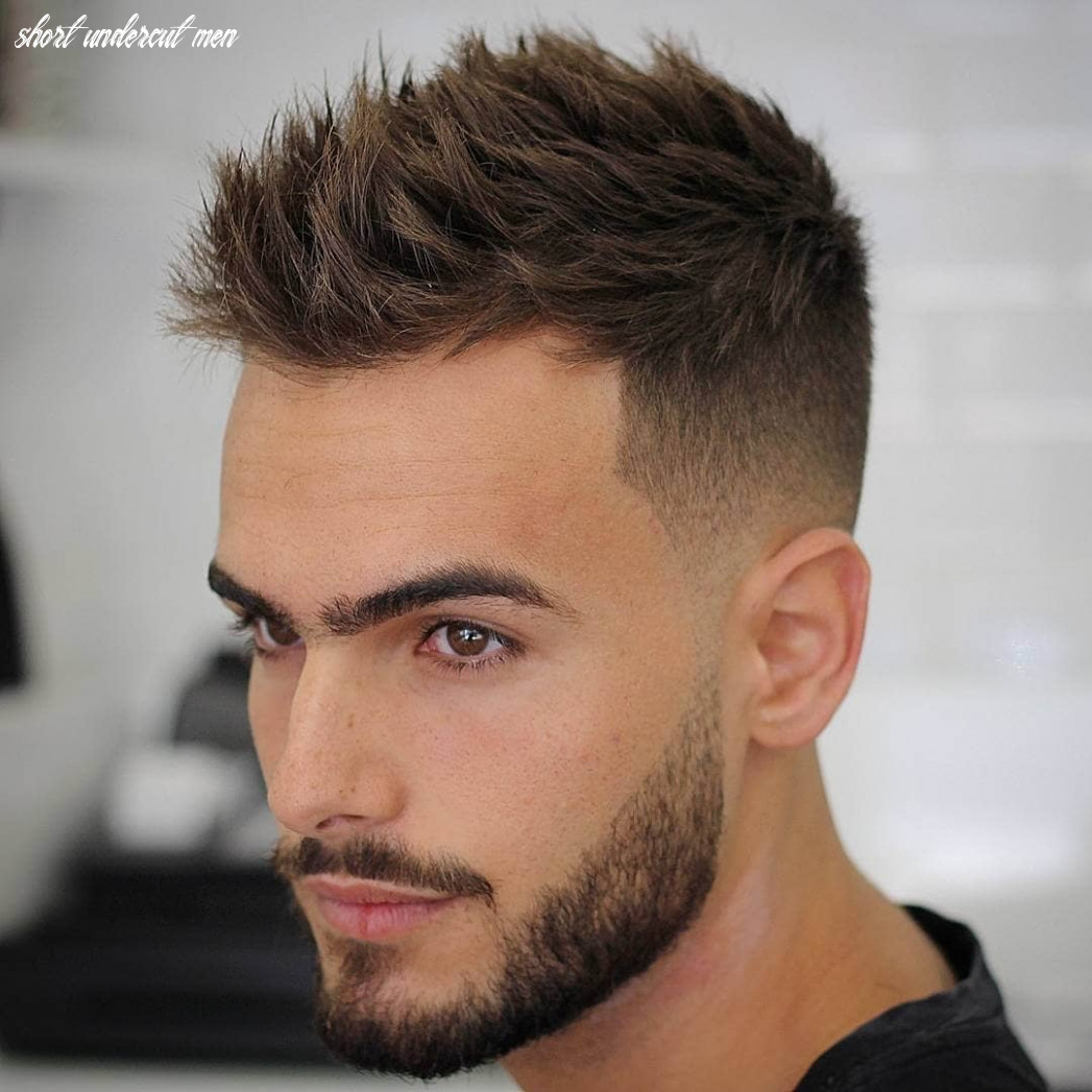 12 trendy undercut hair ideas for men to try out short undercut men