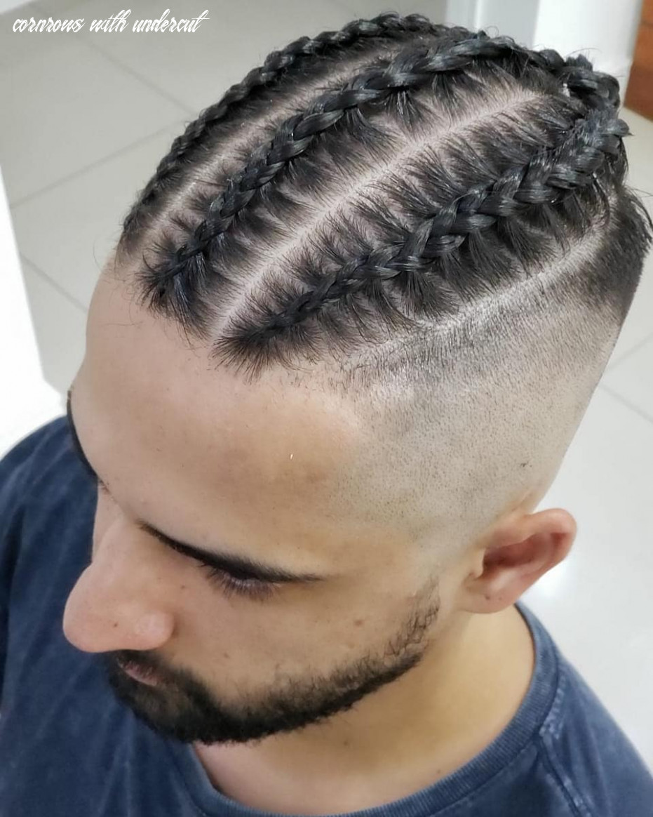 12 trendy undercut haircuts to style cornrows with undercut