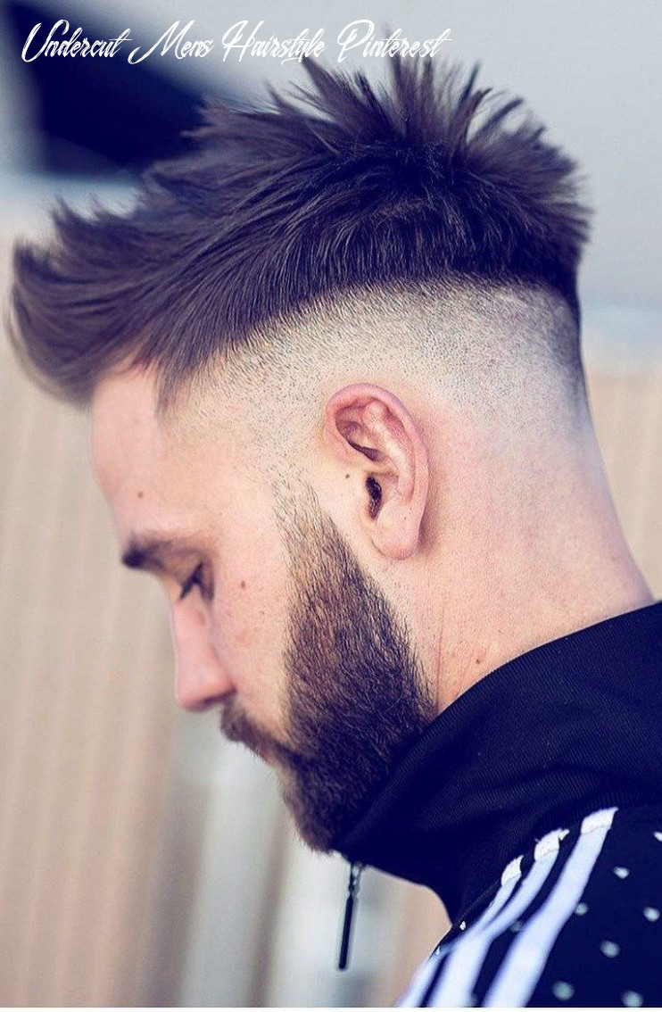 12 trendy undercut hairstyles to compliment your beard right now