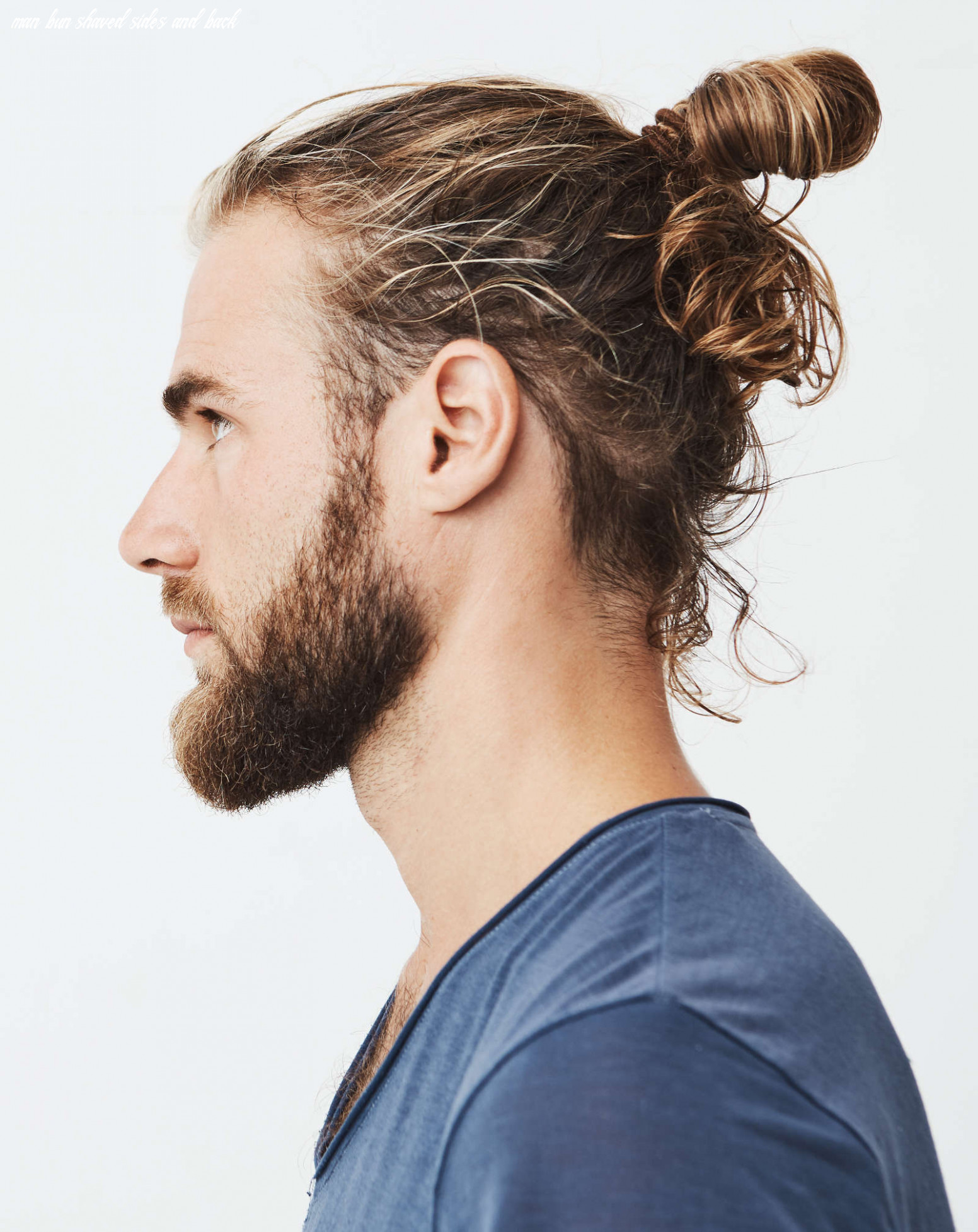 12 types of man bun hairstyles | gallery how to man bun shaved sides and back