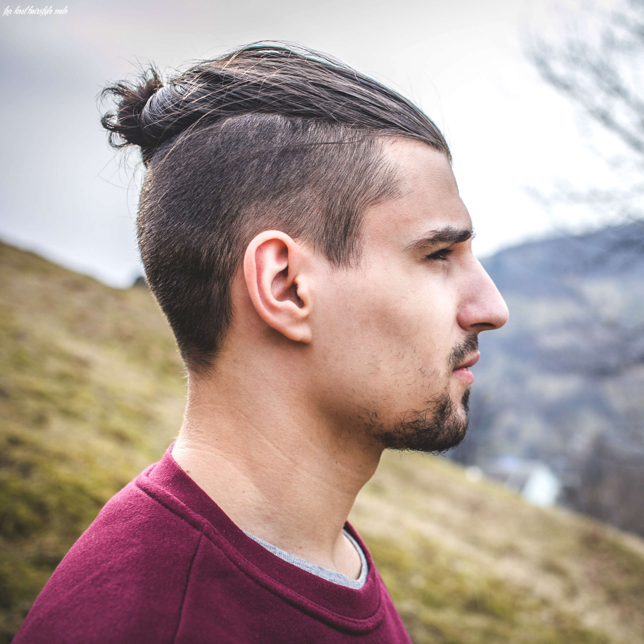 12 types of man bun hairstyles | gallery how to top knot hairstyle male