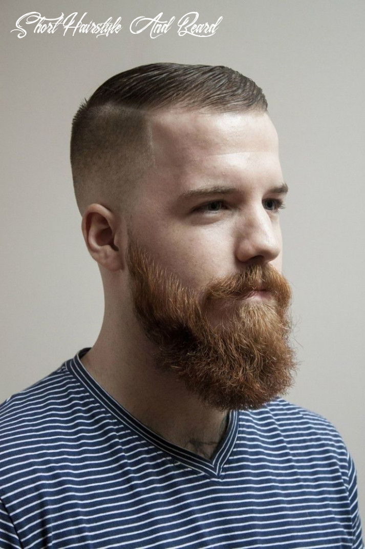 12 ultra modern, short hairstyles with a beard »hairstyles 12