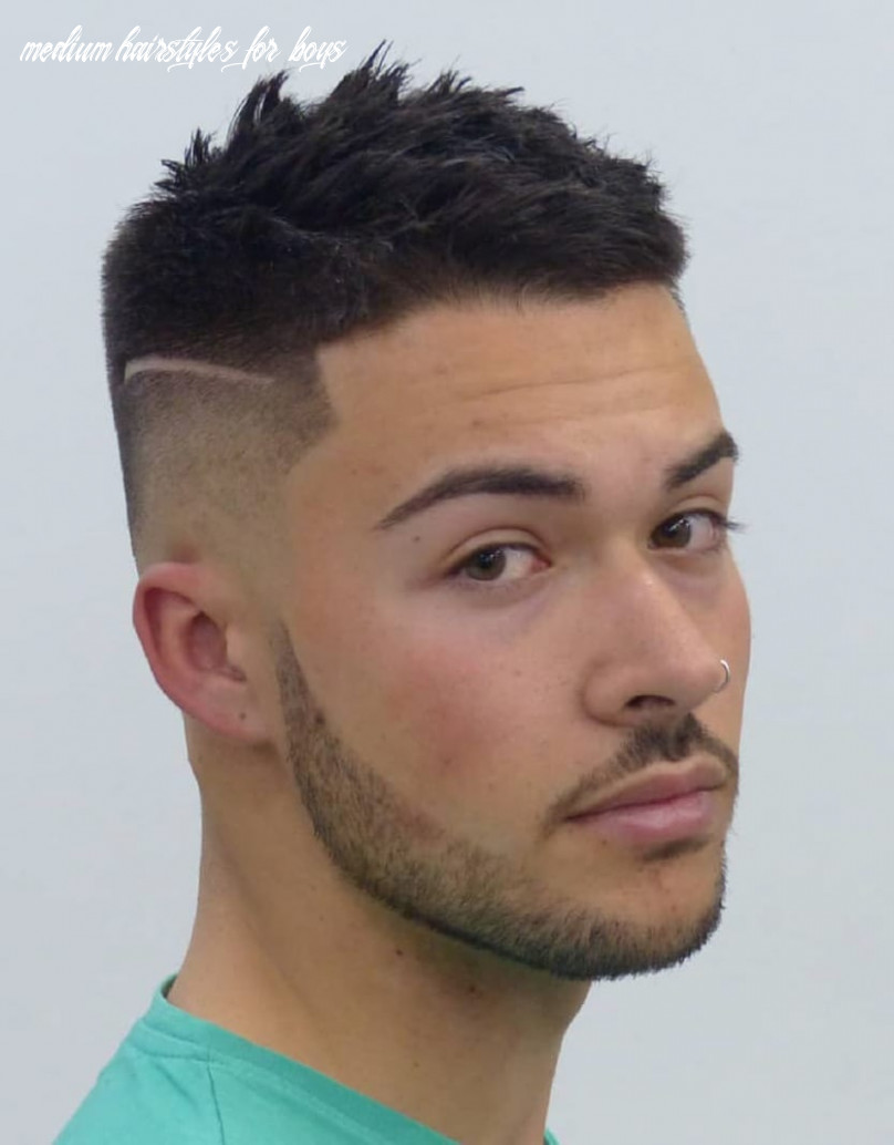 12 unique short hairstyles for men styling tips medium hairstyles for boys