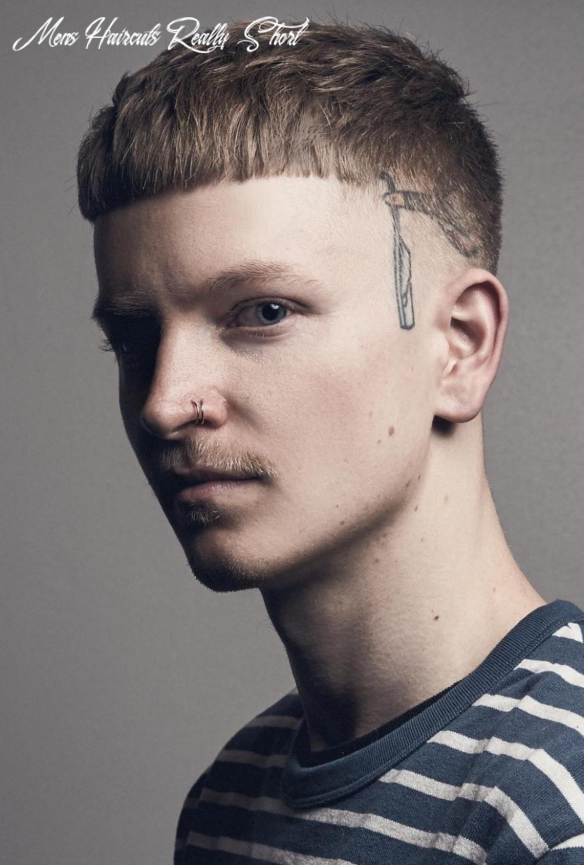 12 unique short hairstyles for men styling tips mens haircuts really short