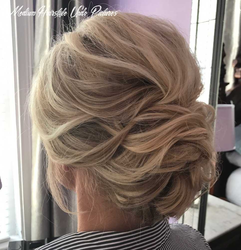 12 wonderful updos for medium hair to inspire new looks hair adviser medium hairstyle updo pictures