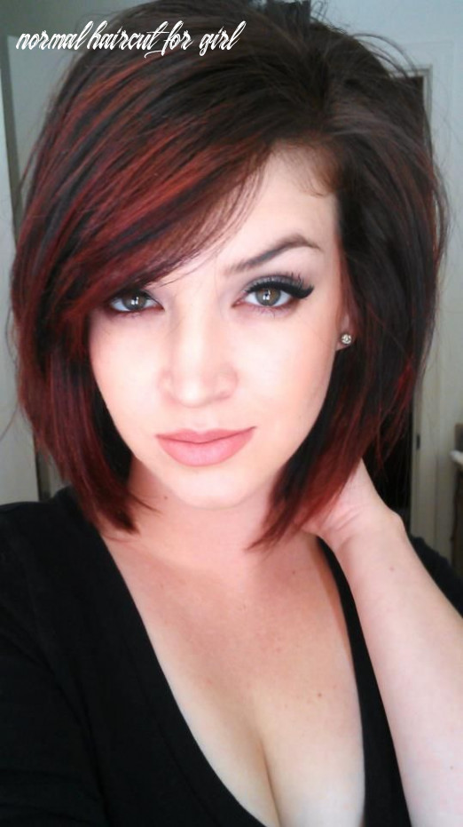 122 short hairstyles for girls: with or without curls! (12 | bob