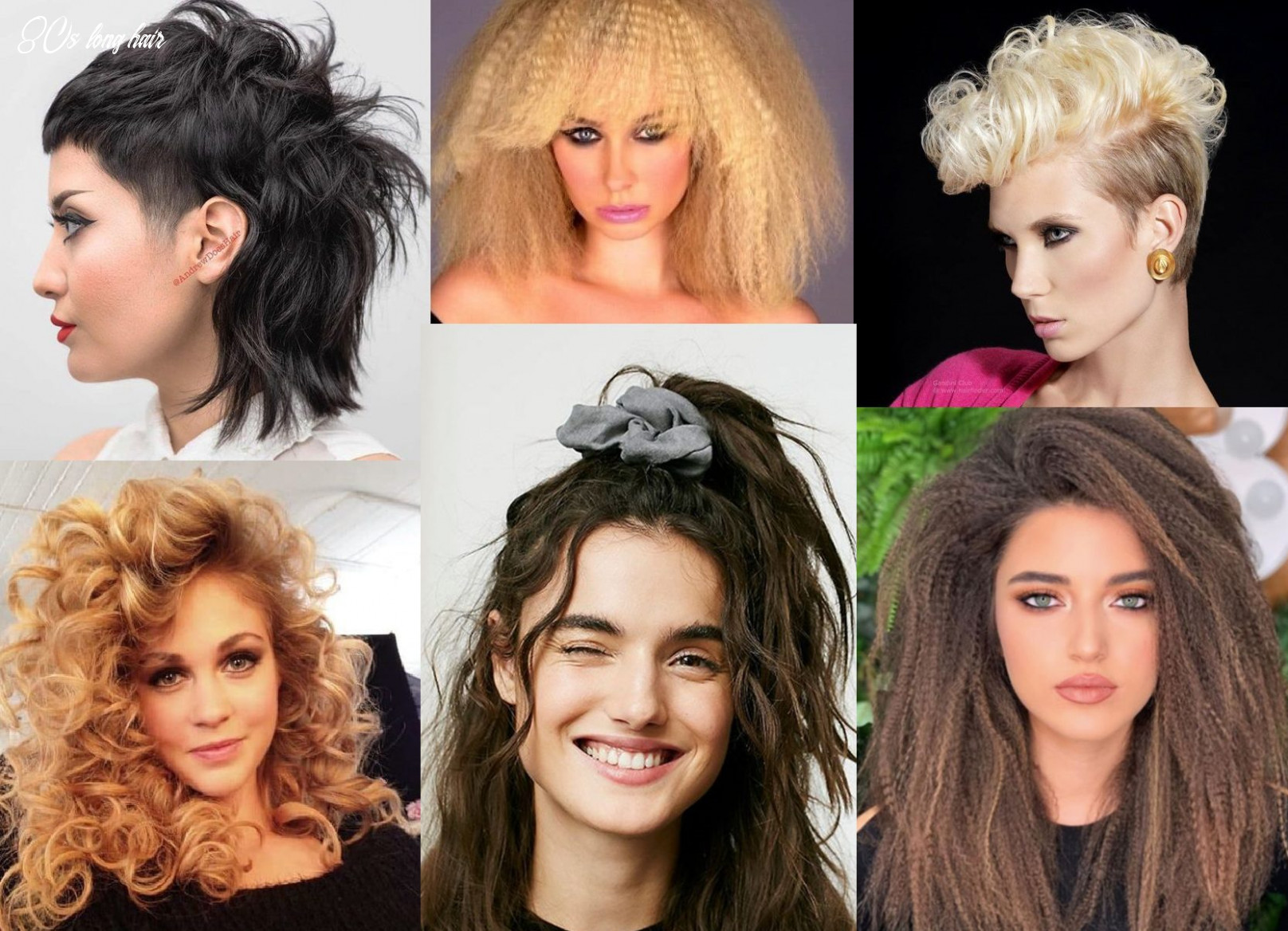 12s hairstyles 12 hairstyles inspired by the 1912s 80s long hair