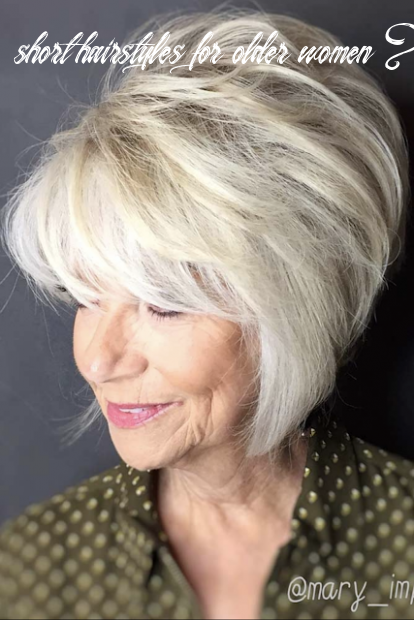 8 8 short hairstyles for women over 8 that are cool