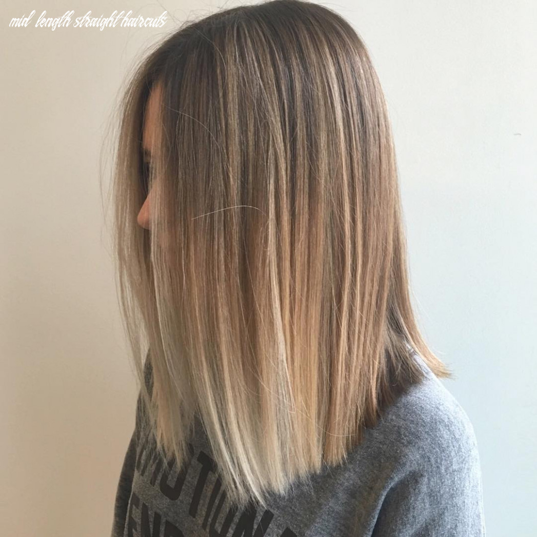8 alluring straight hairstyles for 8 (short, medium & long hair) mid length straight haircuts