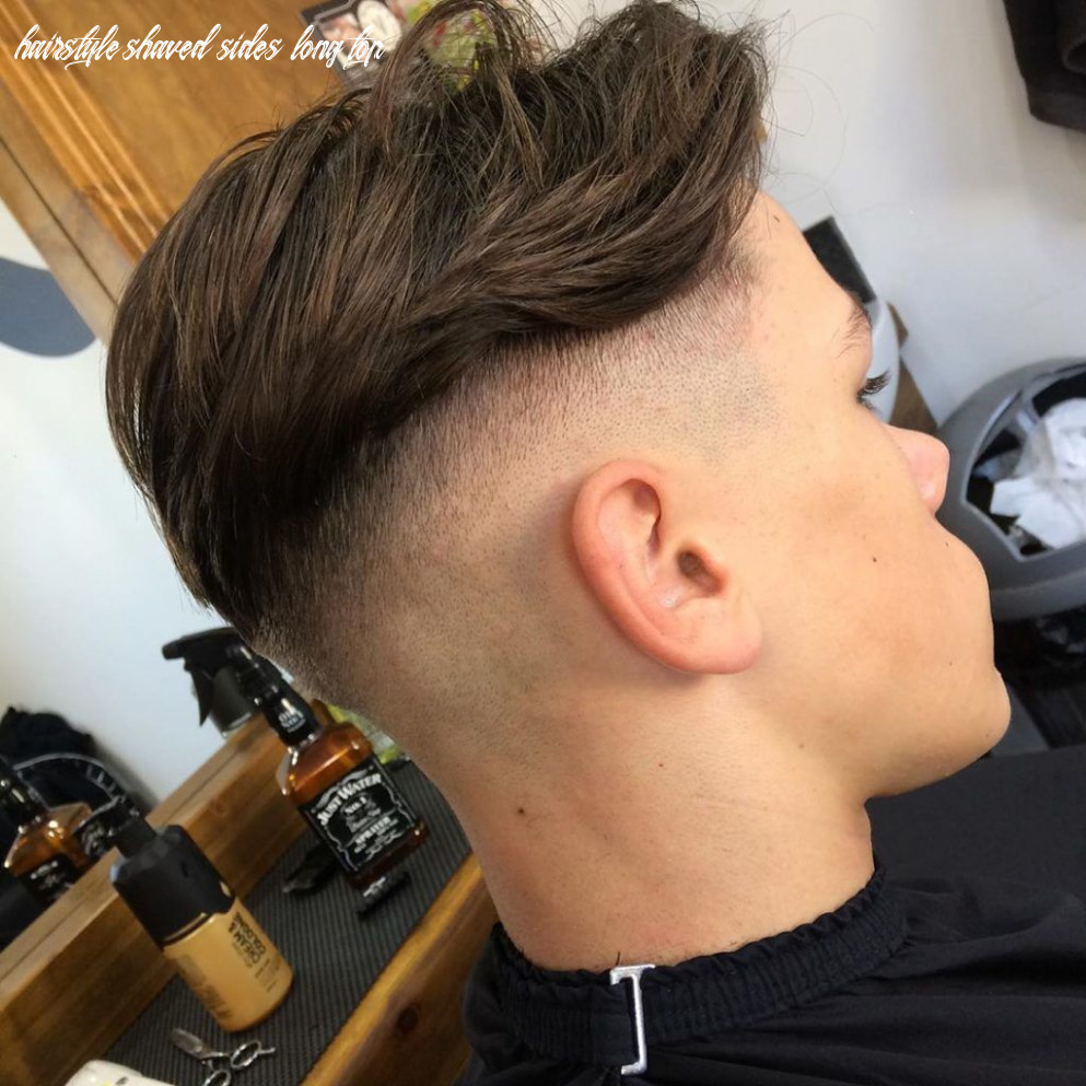 8 awesome shaved sides haircut ideas you need to try!   outsons