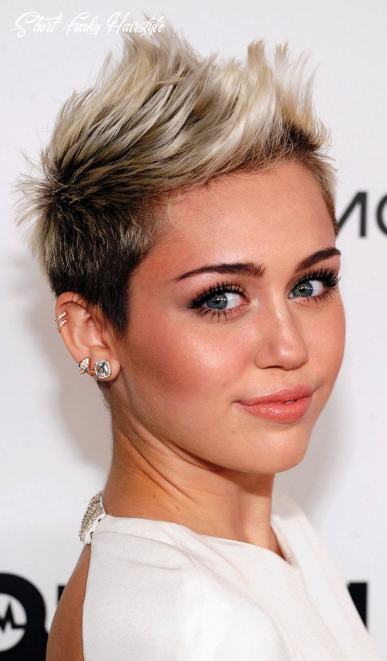8 awesome short hairstyles for fine hair | funky short hair