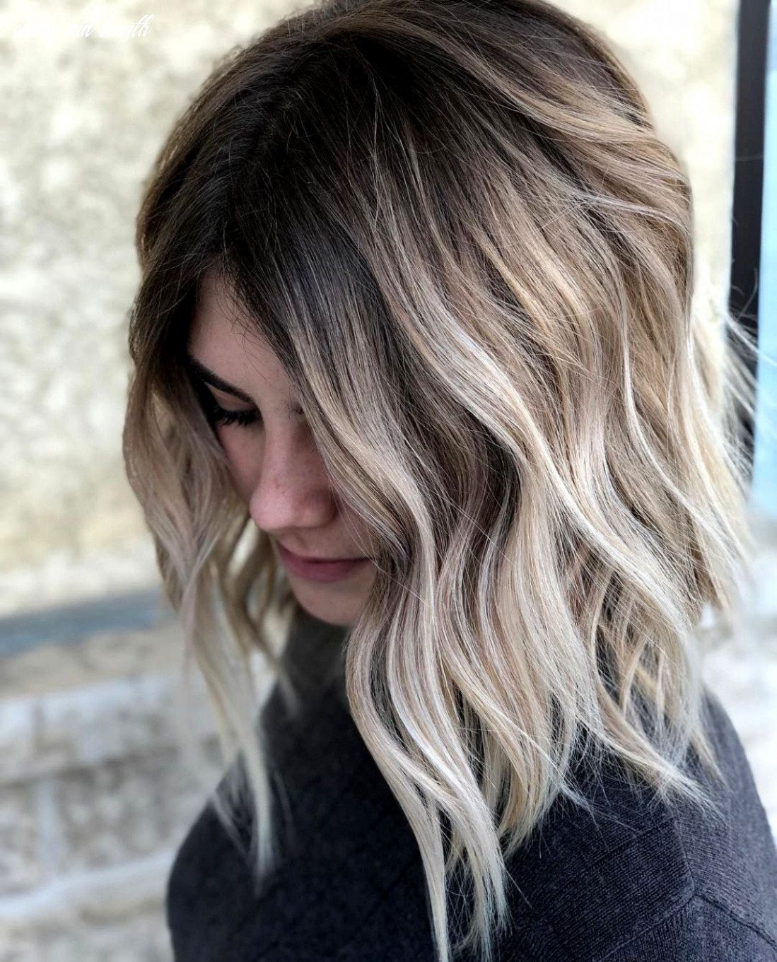 8 balayage ombre hair styles for shoulder length hair, women
