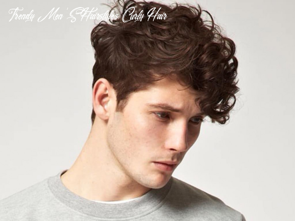 8 Best Curly Hair Styles for Men | Man of Many
