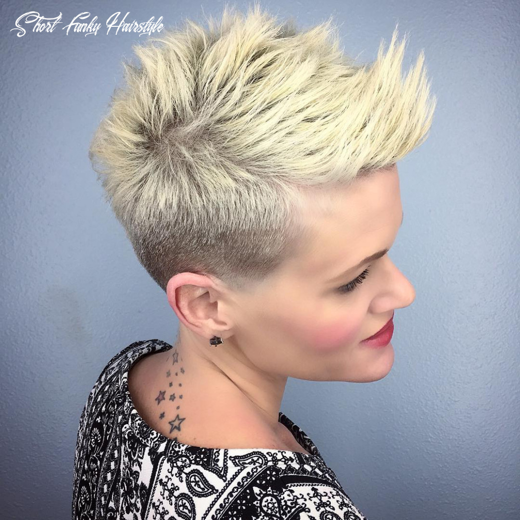 8 best edgy haircuts ideas to upgrade your usual styles short funky hairstyle