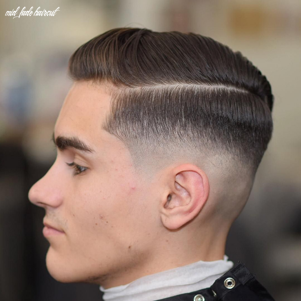 8 best medium fade haircuts [amp up the style in 8]   mid
