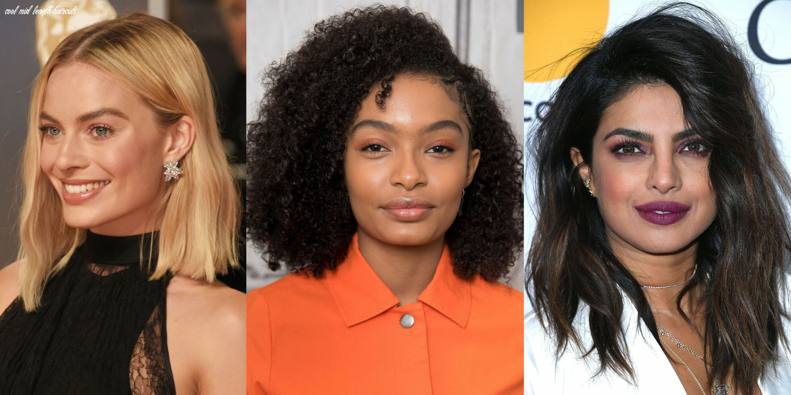 8 best medium hairstyles celebrities with shoulder length haircuts cool mid length haircuts