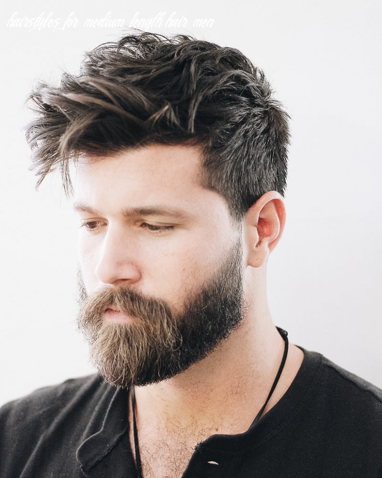 8 best medium length haircuts for men and how to style them hairstyles for medium length hair men
