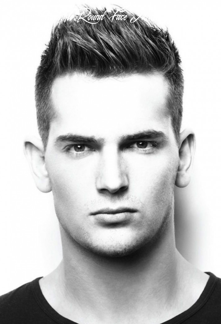 8 best mens hairstyles for round faces   trendy short hair styles