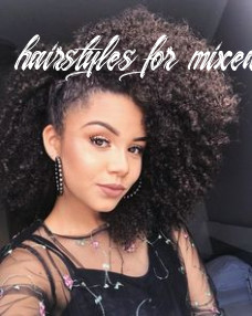 8 best mixed girls hairstyles images   curly hair styles, natural