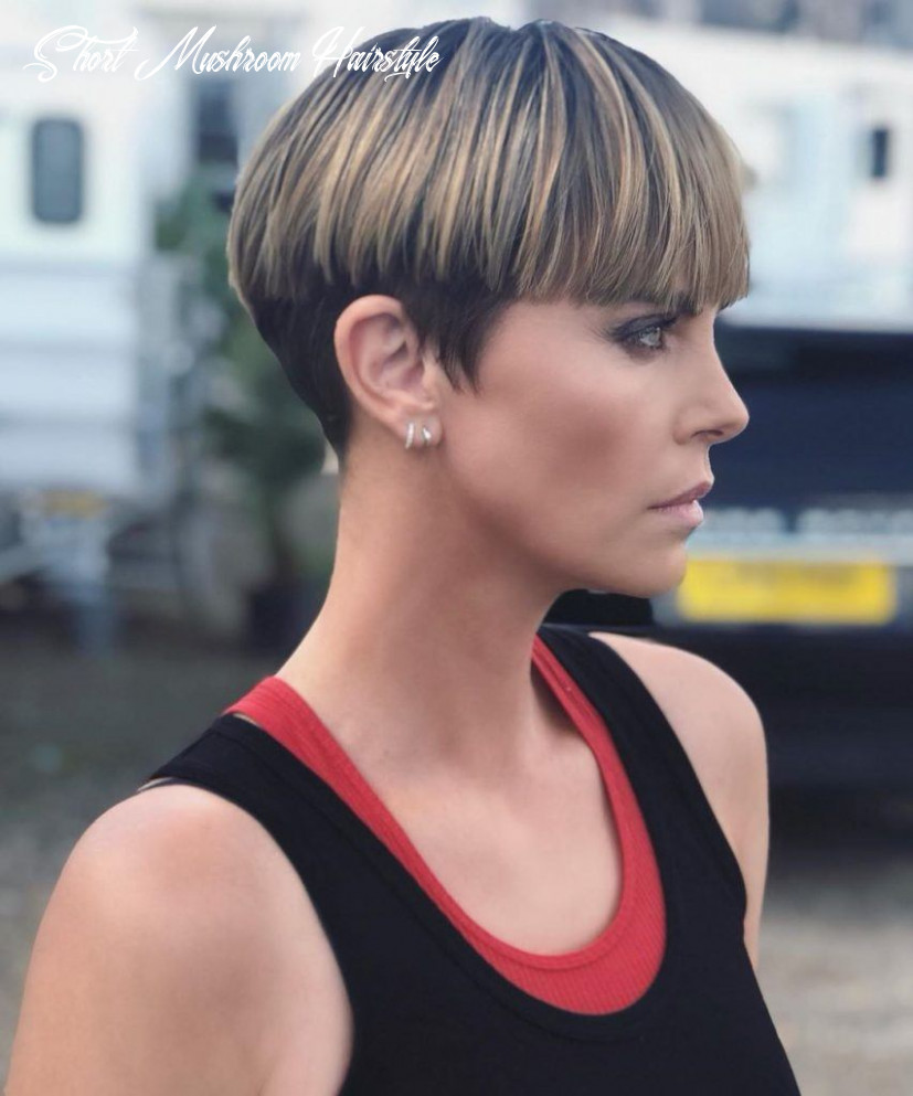 8 best mushroom and bowl cut hairstyles for women in 8 short mushroom hairstyle