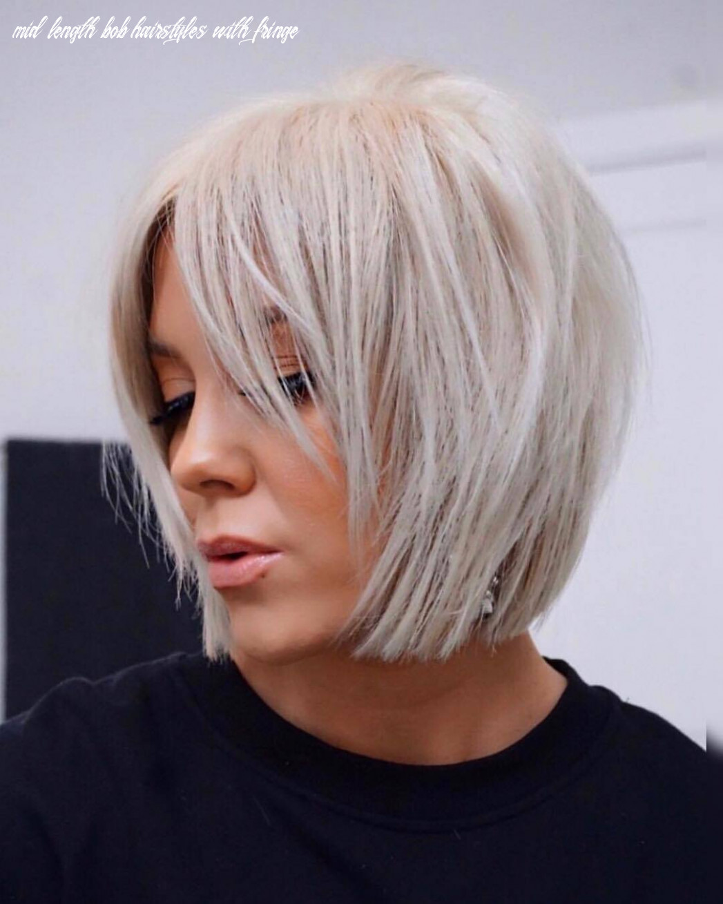 8 best short bobs with bangs haircuts and hairstyles for 8 mid length bob hairstyles with fringe