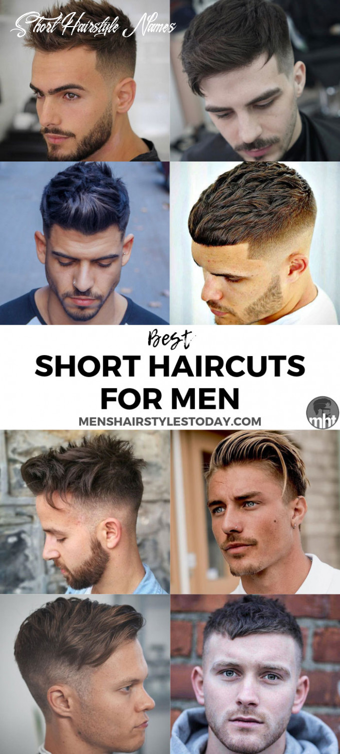 8 best short hairstyles for men to try in 8 short hairstyle names