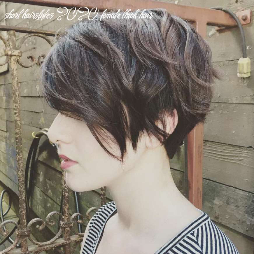 8 best short hairstyles for thick hair in 8 hair adviser short hairstyles 2020 female thick hair