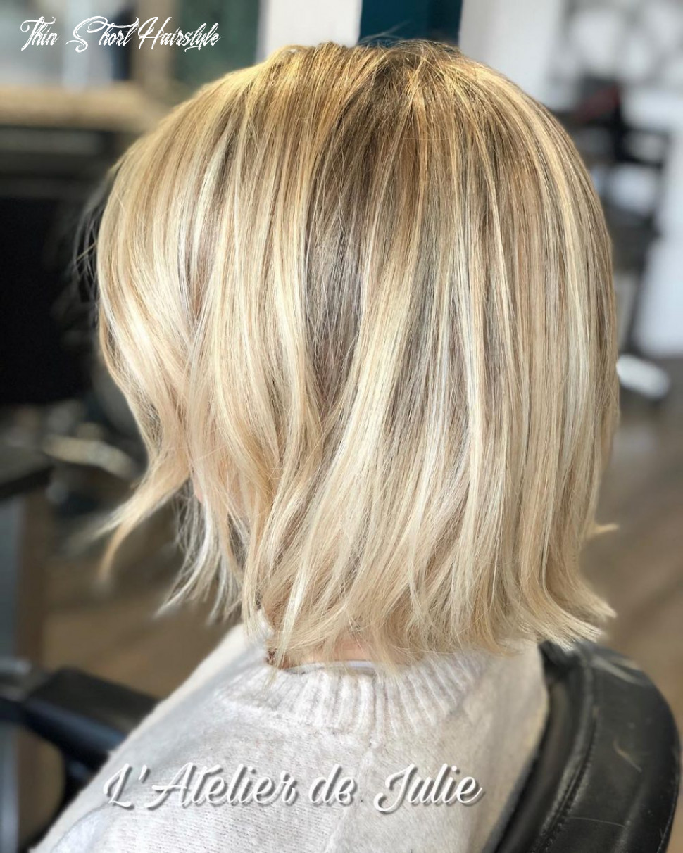 8 best short hairstyles for thin hair to look cute thin short hairstyle