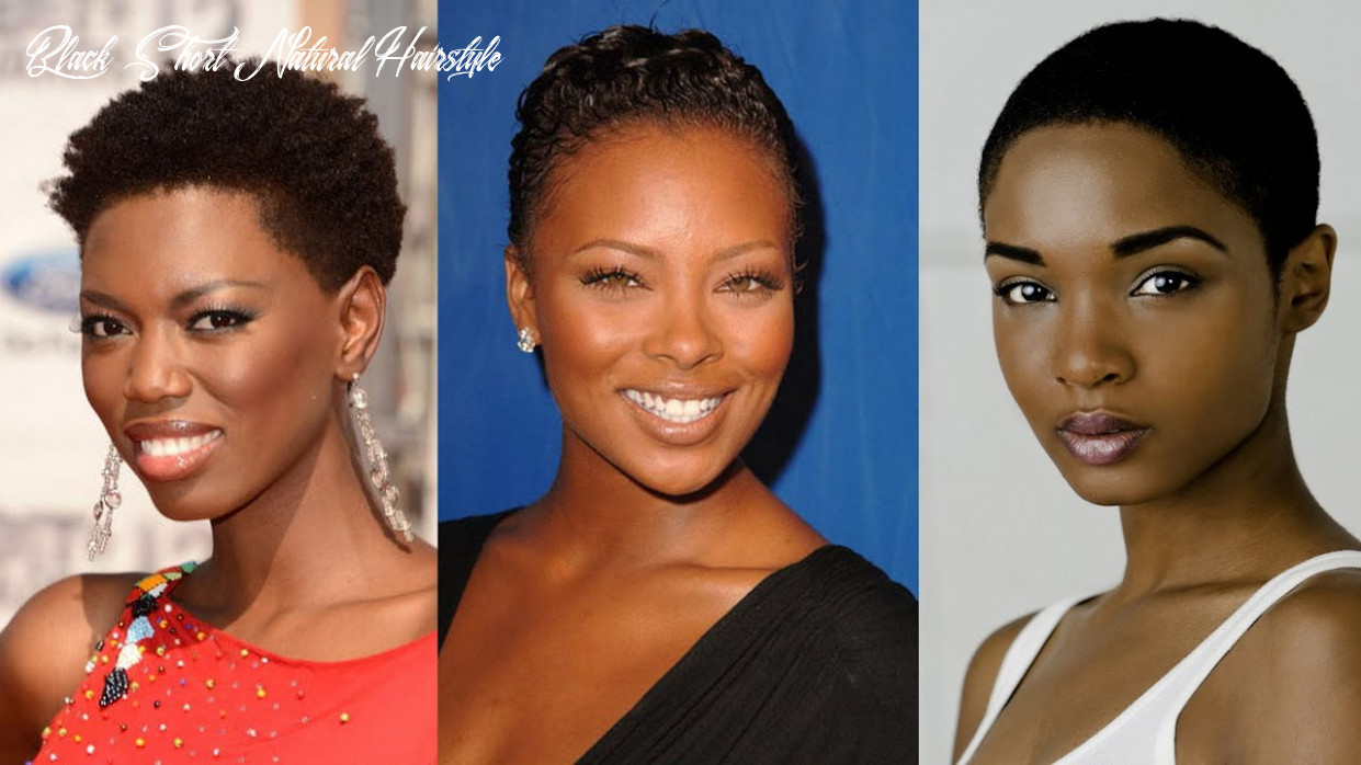 8 best short natural hairstyles for black women black short natural hairstyle