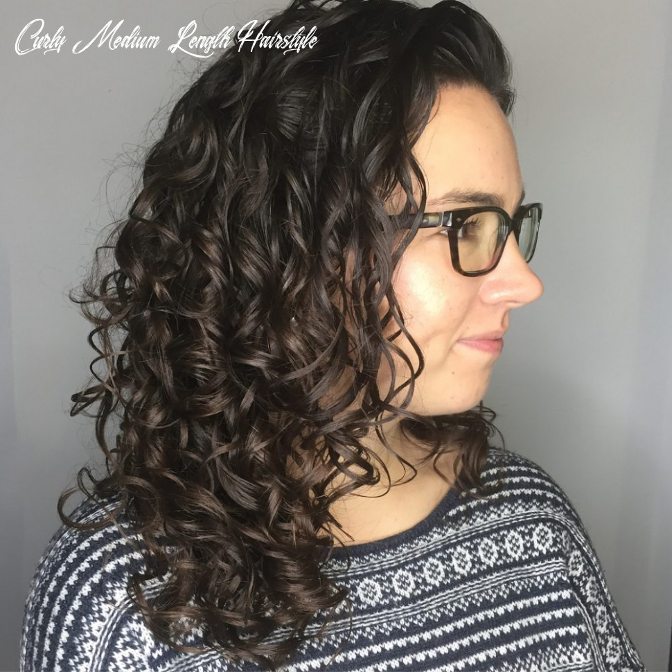 8 best shoulder length curly hair ideas (8 hairstyles) curly medium length hairstyle